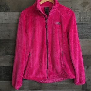 The North Face full zip soft fleece jacket